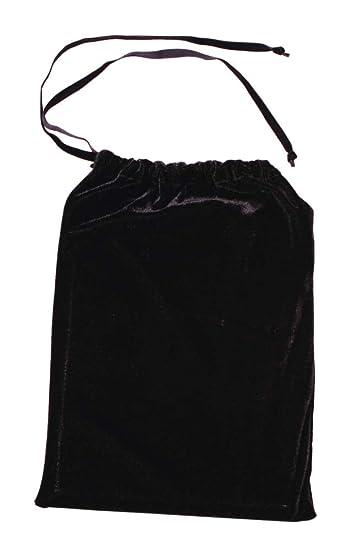 00f728988faa Amazon.com: 10 x 13 Drawstring Velvet Bag - Black: Health & Personal ...