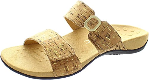 Vionic Womens Rest Camila Synthetic Sandals Cork