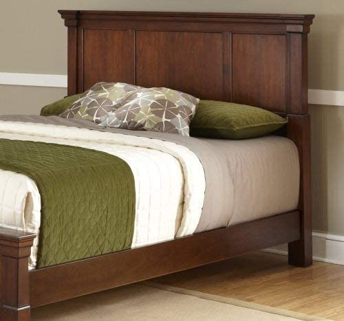 The Aspen Rustic Cherry Queen Bed