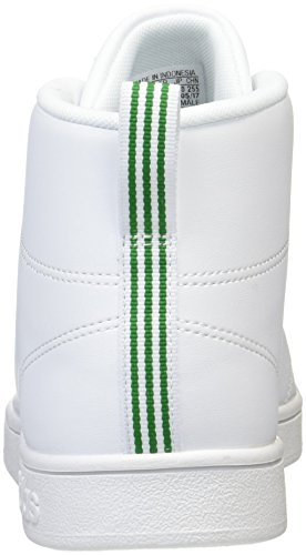 Mid adidas Off Cl Unisex Adults' Ftwr Green Advantage Fitness White Shoes White Rx4Zxgq