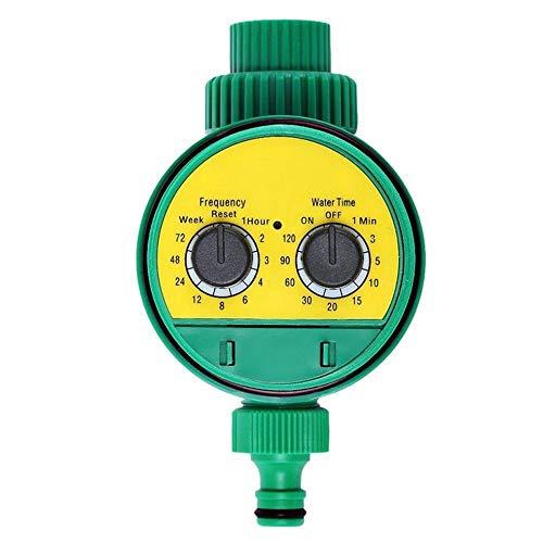 fengwen66 Rotary Knob Water Timer Automatic Watering Timer per Micro irrigazione a Goccia Verde