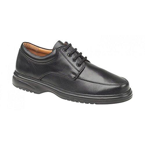 (Amblers Bradbury Featherlight Mens Shoe/Mens Shoes/Lace Mens Shoes (8 US) (Black) )