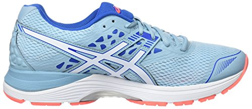 Turquoise 9 1401 Gel Blue Chaussures Bluewhitevictoria Running Asics Pulse Femme Porcelain de Eq0w7f
