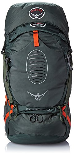 Osprey Men's Atmos AG 50 Backpack (2017 Model), Graphite Grey, Large by Osprey