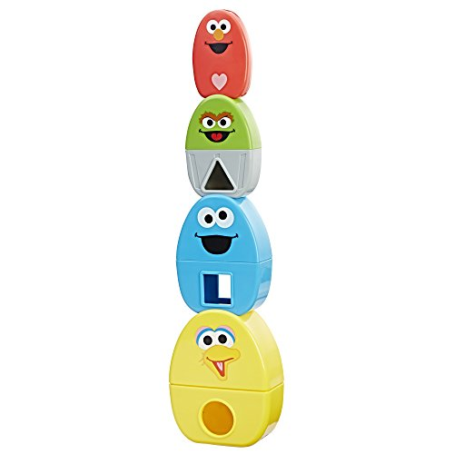 Playskool Friends Sesame Street Elmo's Stack & Nest (Peek A-boo Friends Wall)