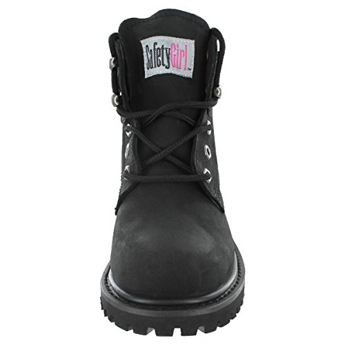 Safety Girl II Steel Toe Work Boots - Black by Safety Girl (Image #6)
