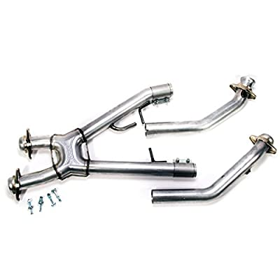 "BBK 1669 2-1/2"" High Flow Performance Full X Pipe Off Road Only Version Ford Mustang 4.6L"