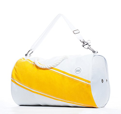 The Getaway Duffel Bag - Yellow by A Summer Shop
