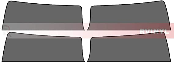Rtint Window Tint Kit for Chevrolet Equinox 2010-2017 Back Kit 20/%