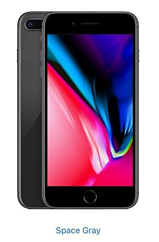 Apple iPhone 8, GSM Unlocked, 256GB - Space Gray (Renewed)