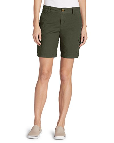 Eddie Bauer Women's Adventurer Stretch Ripstop Cargo Shorts - Slightly Curvy, S by Eddie Bauer (Image #2)