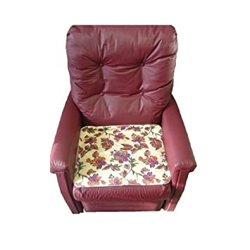 Senset Washable Chair Pads   Floral Pad