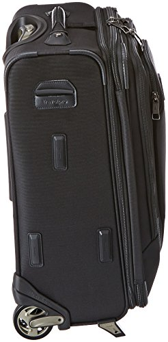 Travelpro Crew 10 20 '' Expandable Business Plus Rollaboard, Balck by Travelpro (Image #2)