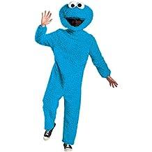 Prestige Full Plush Cookie Monster Adult Costume - XX-Large