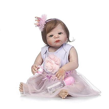 Amazon.es: Nicery Reborn - Muñeca de bebé de vinilo de alta calidad ...