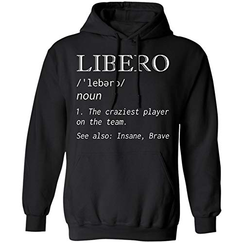 ro t Shirt The Craziest Player on The Team Gift tee (Hoodie;Black;M) ()