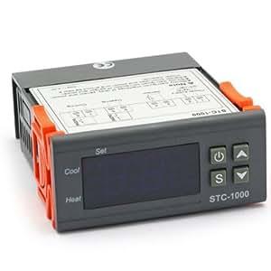 SainSonic STC-1000 All-Purpose Temperature Controller with Sensor Probe