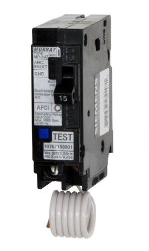 Murray MP120AFC 20-Amp 1 Pole 120-Volt Combination Type Arc Fault Circuit - Interrupters Fault Circuit Arc