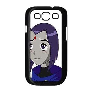 Raven Teen Titans Cartoon Samsung Galaxy S3 9 Cell Phone Case Black 218y-722257