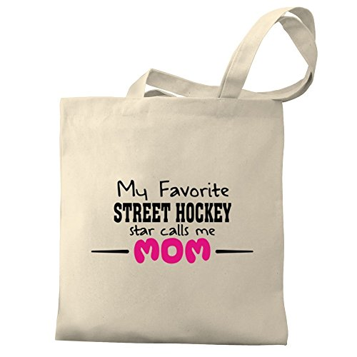 Canvas calls My mom Hockey favorite Bag Street Tote star Eddany me U87qww