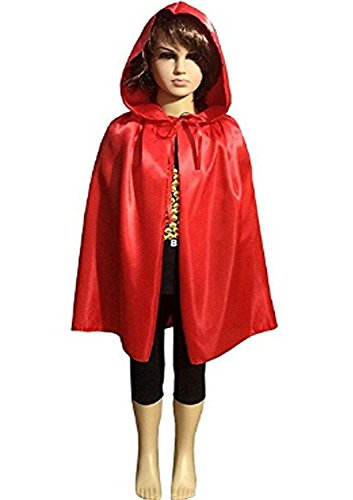 Wizard Of Oz Halloween Costumes Ideas - Kids Velvet Halloween Costume Long Witch Vampire Hooded Cloak Cape Fancy Dress Outfit