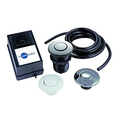 InSinkErator STSS0 Air Switch for Sink or Counter Top with Single Outlet Include,