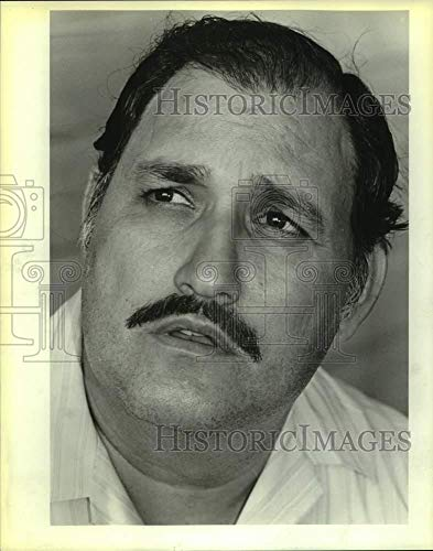 1985 Press Photo Joe Garcia, Amalgamated Transit Union Member in Labor ()
