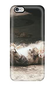 New Fashionable Raymond Shattuck FrRTfoT2767UIDaH Cover Case Specially Made For Iphone 6 Plus(cat Lying In Concrete)
