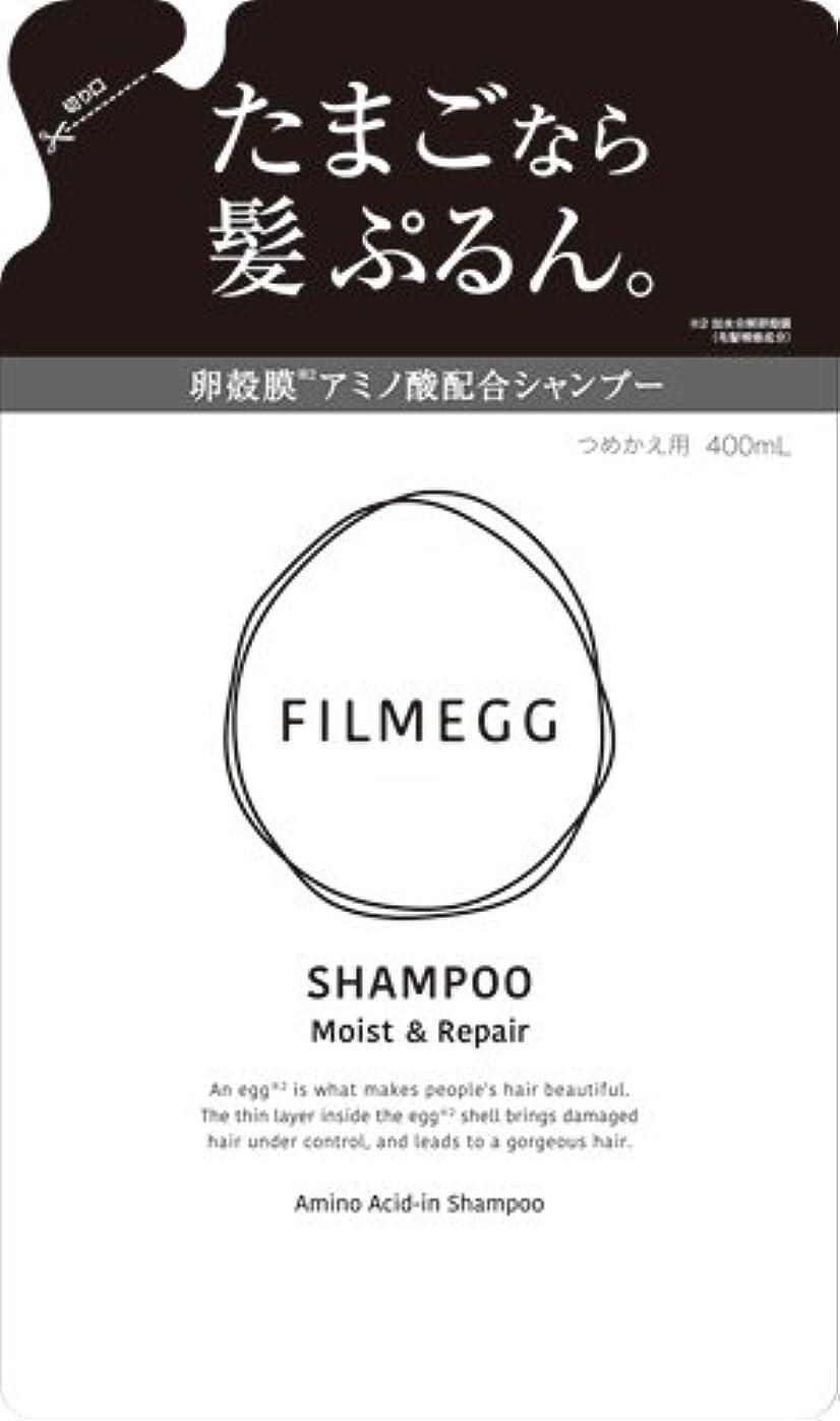 ランプ噴出する自分のためにFILMEGG(フィルメッグ) シャンプー 詰替え 400ml