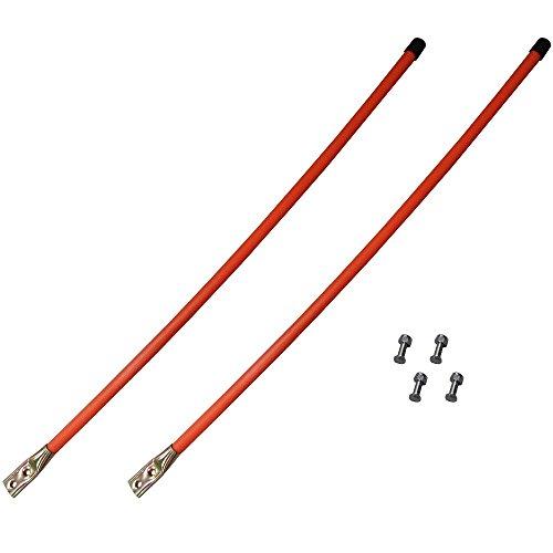 - 2036 Set of (2) Orange Snow Plow 36