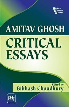 Amitav Ghosh Criticism - Essay