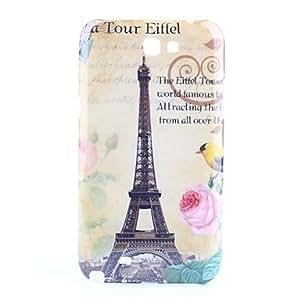 Eiffel Tower Pattern Hard Case for Samsung Galaxy Note 2 N7100