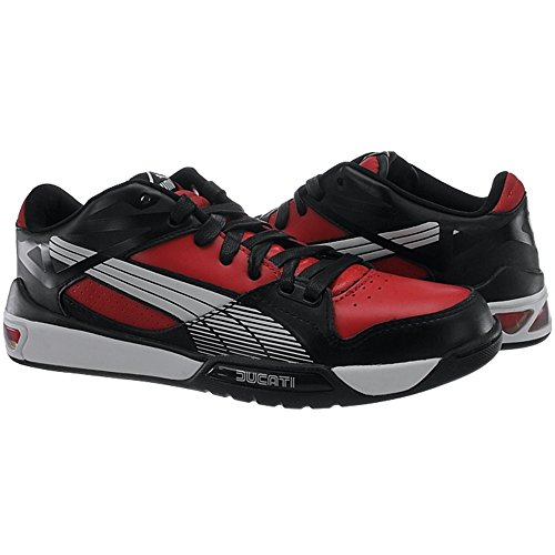 Puma Hypermoto Lage Ducati - 30414103 Wit-zwart-rood