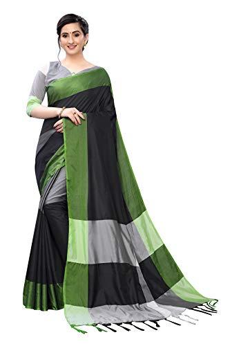 PERFECTBLUE Women's Art Silk Woven saree with Blouse Piece