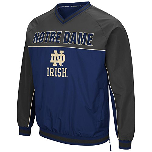 Notre Dame Fighting Irish Windbreaker Jacket Coach Klein Pullover (XX-Large)