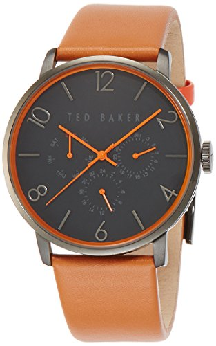 Ted Baker Men's 10023490 Classic Analog Display Japanese Quartz Brown Watch