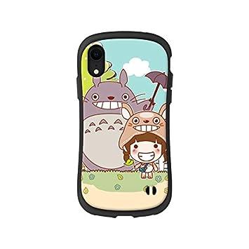 Amazon Iphone7 Iphone8plus対応 ジブリ トトロのかわいいイラスト