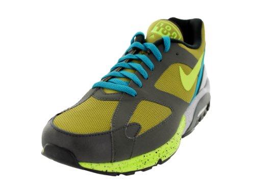 Nike Men's Air Max Terra 180 Parachute Gold/Vlt/Nwsprnt/Blk Running Shoe 11.5 Men US