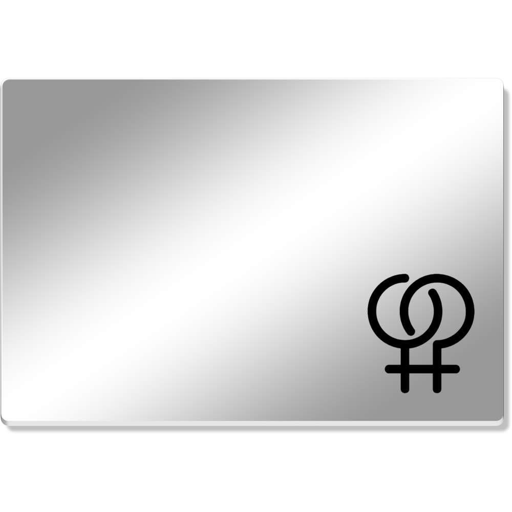 Azeeda Símbolo Lesbico Mantel de Espejo (CR00135013 ...