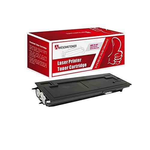 Awesometoner Compatible 1 Pack TK-437 1T02KH0US0 Toner Cartridge For Kyocera-Mita TASKalfa 180 181 220 221 Yield 15000 Pages