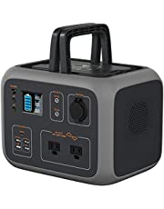 BLUETTI Solar Generator AC50S Power Station 500Wh MPPT Sine-Wave w/ 2AC Outlet 120V,PD 45W USB-C,Wireless Charging,Regulated DC12V Lithium Battery Backup for Outdoors Camping Outage Emergency
