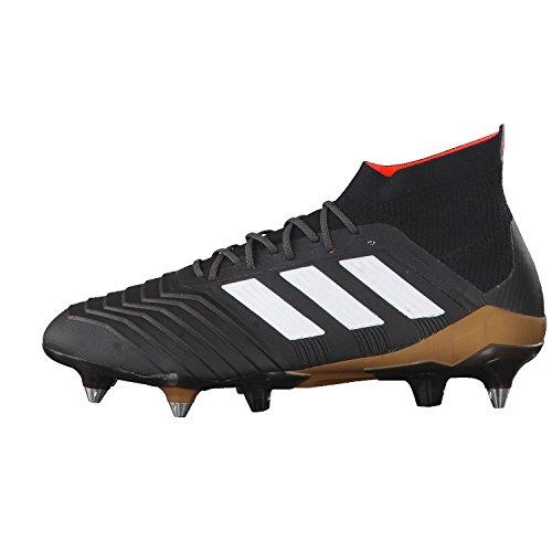 adidas Herren Fussballschuhe Predator 18.1 SG core black/ftwr white/solar red 42