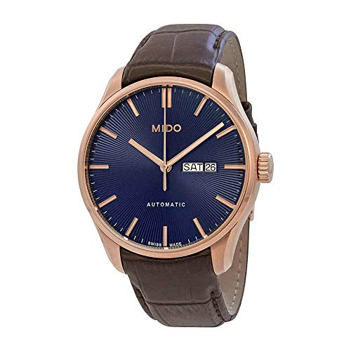 Mido Belluna II Automatic Blue Dial Men's Watch M0246303604100
