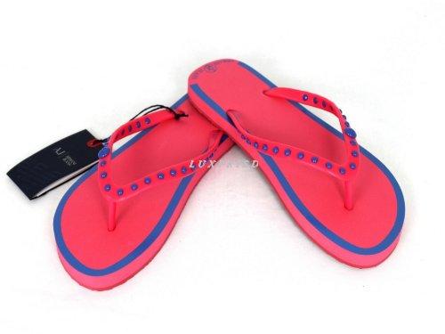 Armani 40 Slippers V55F1 Pink Womens Size Fuxia gxwrf7gYqB