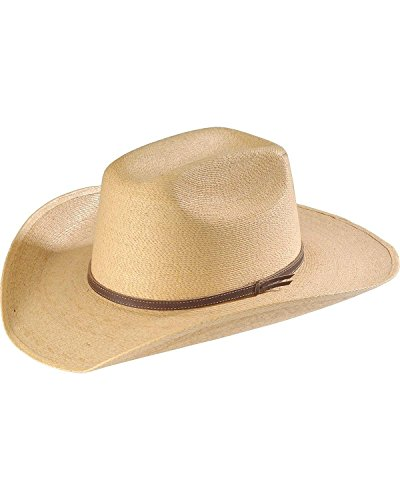 Infant Cowboy Hat (Atwood Hat Co Infant-Boys' 'S Palm Leaf Straw Cowboy Natural One)
