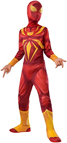 Ultimate Spider-man Costumes (Rubie's Costume Spider-Man Ultimate Child Iron Spider Costume, Medium)