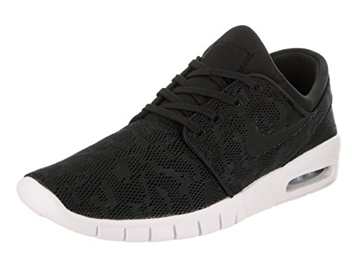 Nike Stefan Janoski Max, Unisex Adults' Low-Top Sneakers Black (Black/Black-white 022)