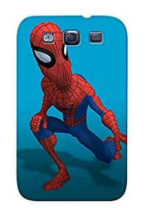 High-quality Durability Case For Galaxy S3(spiderman Cartoon Render 2 )