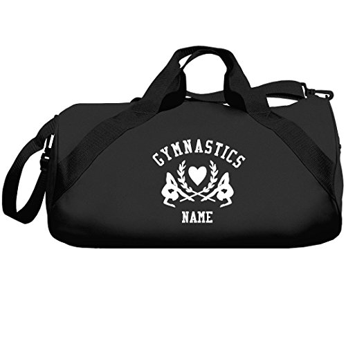 Gymnastics Girl Athletic Custom Bag: Liberty Barrel Duffel Bag