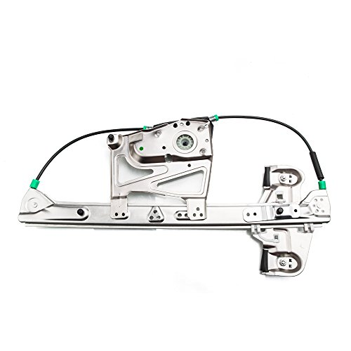 Front Left Driver Power Window Lift Regulator Replacement for 2000 2001 2002 2003 2004 2005 Cadillac DeVille 4.6L V8